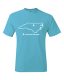 North Carolina Chapel Hill Where My Team Plays T-Shirt