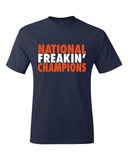 Virginia Charlottesville National Freakin Champions Final Four T-Shirt
