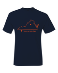 Virginia Charlottesville Where My Team Plays T-Shirt