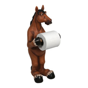 Rivers Edge New Standing Horse Toilet Paper Holder