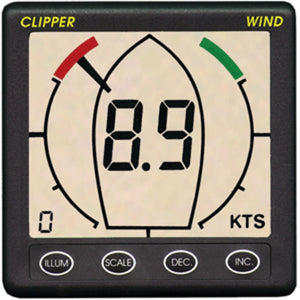 Clipper Wind Instrument w/Masthead Transducer & Cover