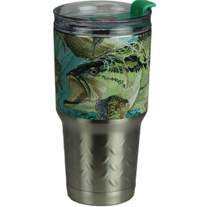Rivers Edge Guy Harvey 24oz. SS Tumbler-Bass