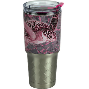 Rivers Edge Guy Harvey 32oz. SS Tumbler-Turtle