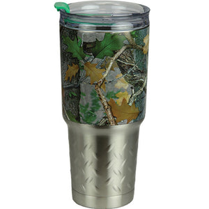 Rivers Edge CB Camo Green 32oz SS Tumbler