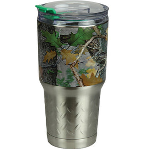 Rivers Edge Green CB Camo  24oz. SS Tumbler