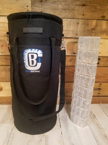 CoolBrewCorny 5G Keg Cooler 3.0 BUNDLE! Includes Cooler AND IMPROVED Ice Wrap!