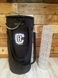 CoolBrewCorny 5G Keg Cooler 3.0 BUNDLE! Includes Cooler AND Ice Wrap!