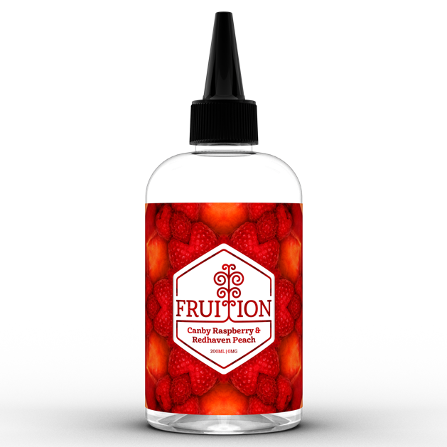 Fruition Canby Raspberry & Redhaven Peach 200ml Shortfill