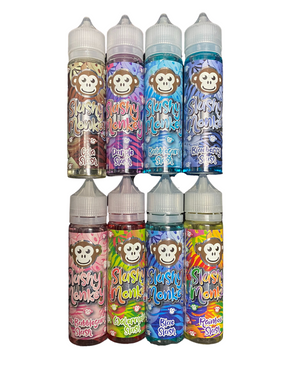 8 x 50ml Shortfill Slushy Flavours E-liquid Bundle With Nic Shots