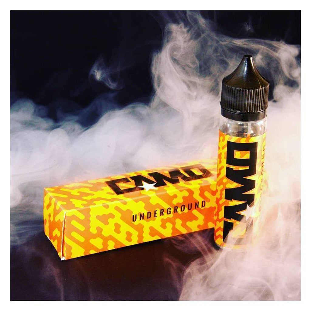 Camo Underground 50ml Shortfill E-Liquid