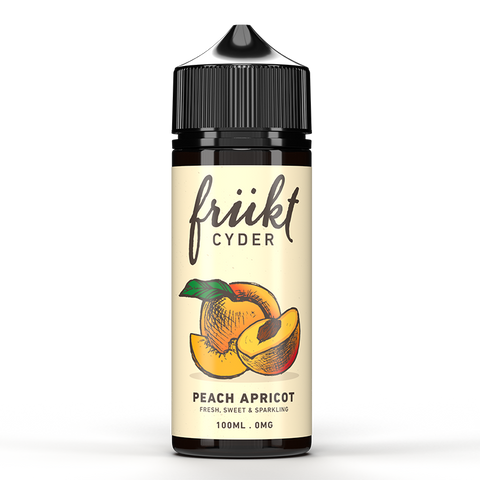 Frukt Cyder Peach Apricot 100ml Shortfill