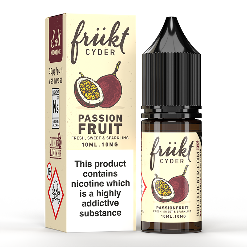 Frukt Cyder Passionfruit Salt 10ml