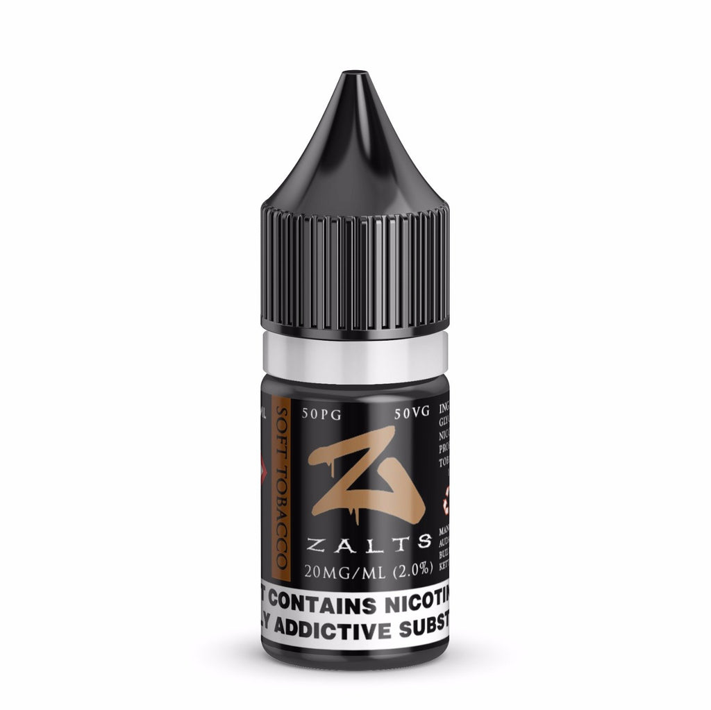 Zalts Soft Tobacco 20mg Nic Salt