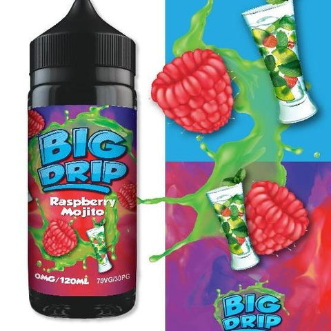 Doozy Big Drip Raspberry Mojito 100ml Shortfill