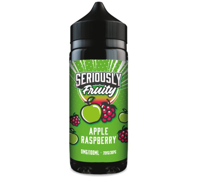 Seriously Fruity by Doozy Vape Co Apple & Raspberry 100ml
