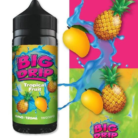 Doozy Big Drip Tropical Fruit 100ml Shortfill