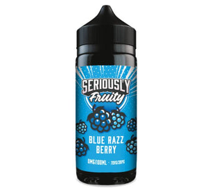 Seriously Fruity by Doozy Vape Co Blue Razz Berry 100ml