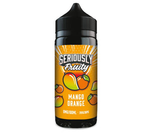 Seriously Fruity by Doozy Vape Co Mango Orange 100ml