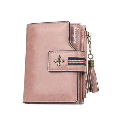 Women's Fashion Solid Waterproof Bags Multifunctional Mini Wallet Card Holder - Marfuny