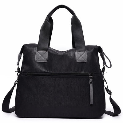 Women's Waterproof Oxford Bags Large Capacity Multifunctional Zipper Handbag - Marfuny
