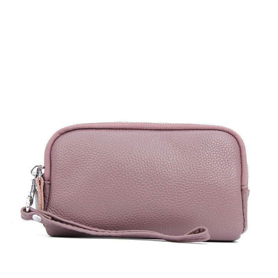 Women's Fashionable Genuine Leather Bags Solid Waterproof Convenient Wallet Phone Bags - Marfuny