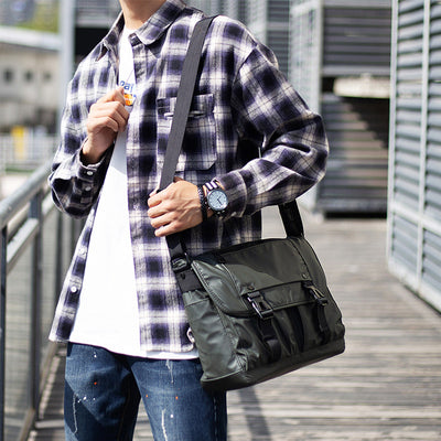 🔥Waterproof Oxford Scratch Resistant Men bags Anti-theft Messenger Bag