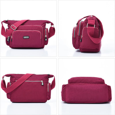 🔥🔥2020 Upgrade RFID Waterproof Nylon Women Crossbody Bag - Marfuny