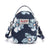 Women Chic Oxford Print Waterproof Multifunctional Zipper Crossbody Bags - Marfuny
