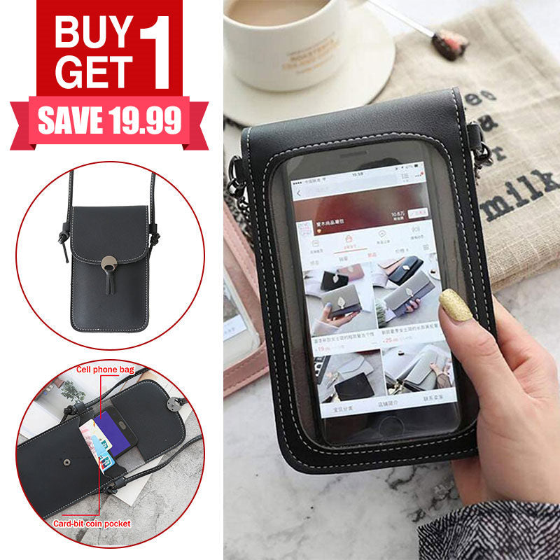 Touchable PU Leather Wallet Phone Bag 🔥 BUY 1 GET 1 FREE LAST DAY 🔥 - Marfuny
