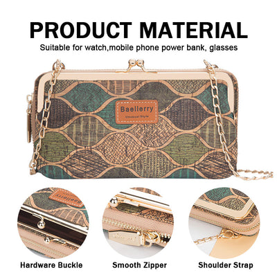 Women's Fashion Printing Multifunctional Wallet Phone Bags - Marfuny