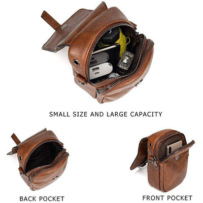 Multi-Functional Soft Leather Phone Bag - Marfuny