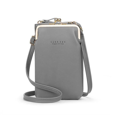 50% OFF-Women Phone Bag Solid Crossbody Bag(Buy 2 Free Shipping)