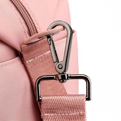 Women's Fashion Solid Waterproof Nylon Bags Large Capacity Multifunctional Zipper Crossbody Bags - Marfuny