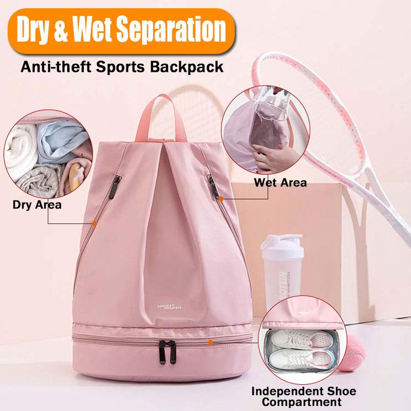 Dry & Wet Separation Anti-theft Sports Backpack - Marfuny