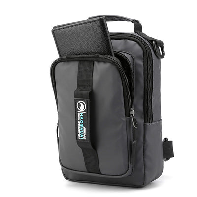 🔥🔥Waterproof Nylon Messenger Bag Multifunction USB Bags