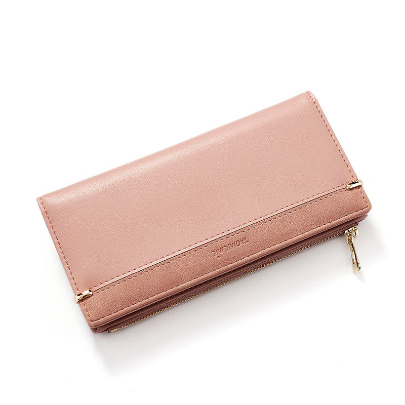 Women's Elegant RFID Card Holders Zipper Long Wallet  - Marfuny