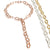 Rose Gold 18 ct. Vermeil Chunky Necklace
