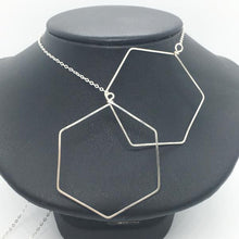 Sterling Silver Large Honeycomb Lariat