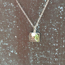 Sterling Silver Lily of the Valley Charm Necklace