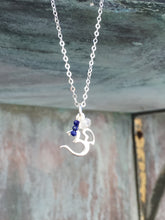 Sterling Silver Ohm Charm Necklace
