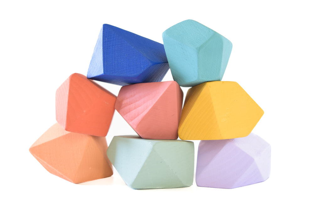 Confetti | 8 Set of Rock Blocks