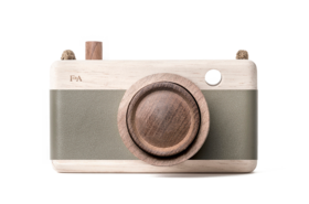 Wooden Camera-Fern Frond Green
