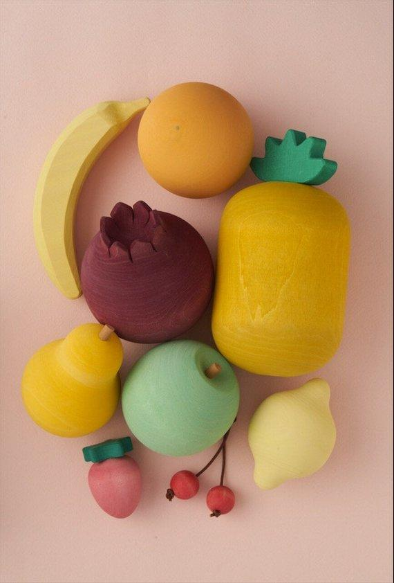 Raduga Grez Wooden Fruit Play Set