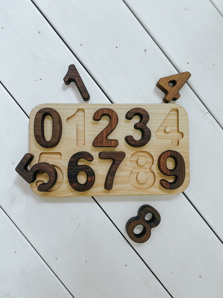 number puzzle - PRE ORDER October Arrival