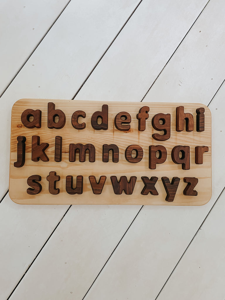 ABC lowercase alphabet puzzle