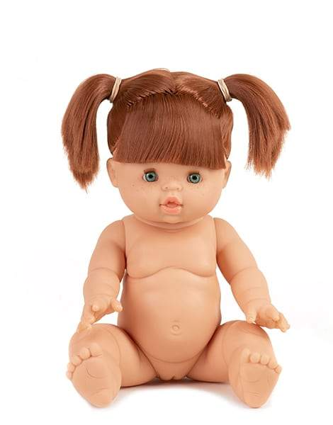 Baby Doll, Caucasian Female in cotton underwear