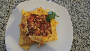 Thai Omelette with Nong Yotmarn