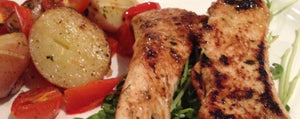 Moroccan Chicken Breast with Chilli Potato