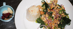 Thai Chicken Larb Gai with Thai Seasoning