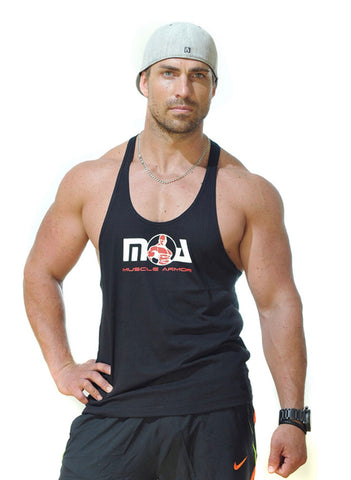 Muscle Armor Stringer - Black